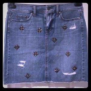 Ann Taylor/Loft Jeans skirt